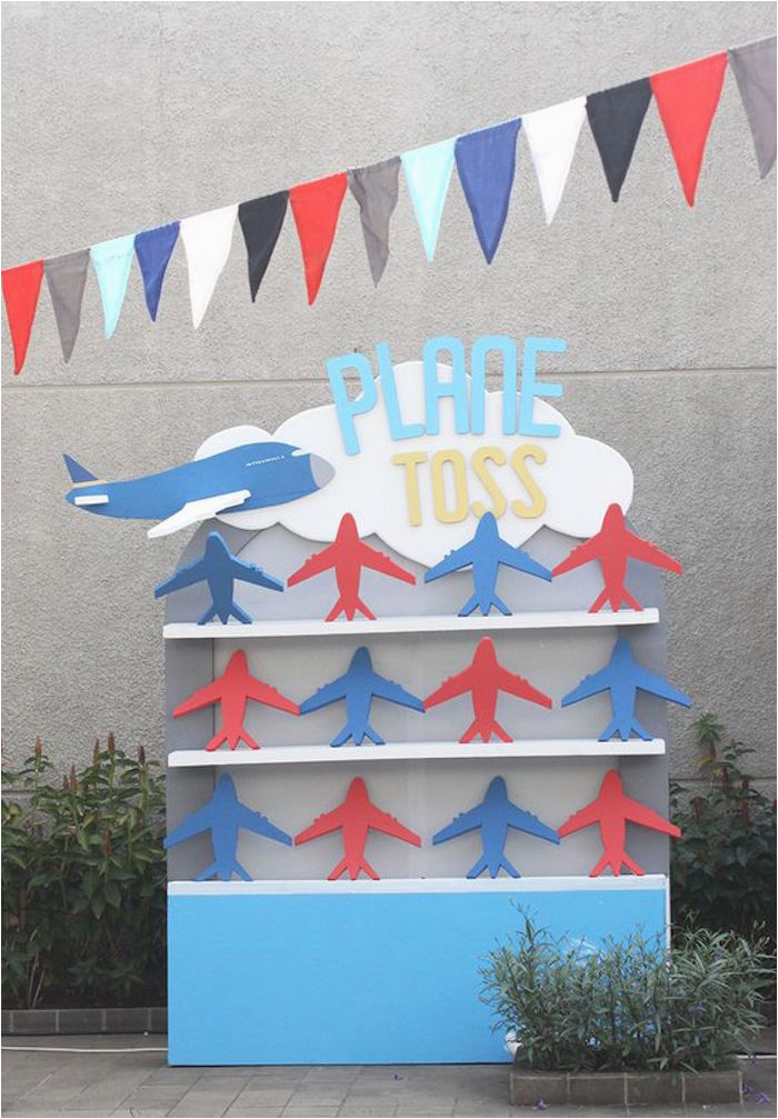 airplane 5th birthday party