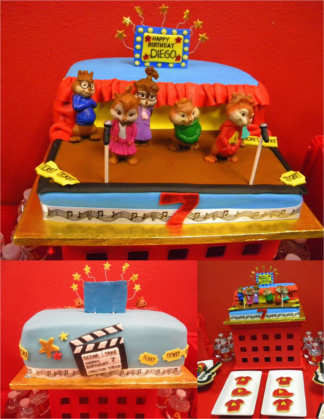 alvin and chipmunks party theme