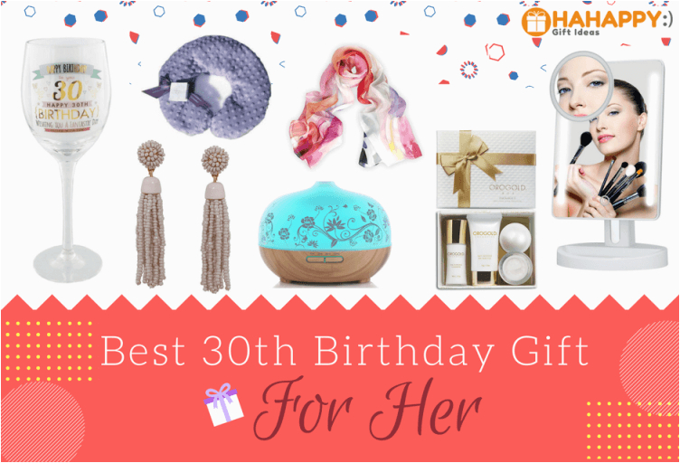 18 great 30th birthday gifts for her hahappy gift ideas