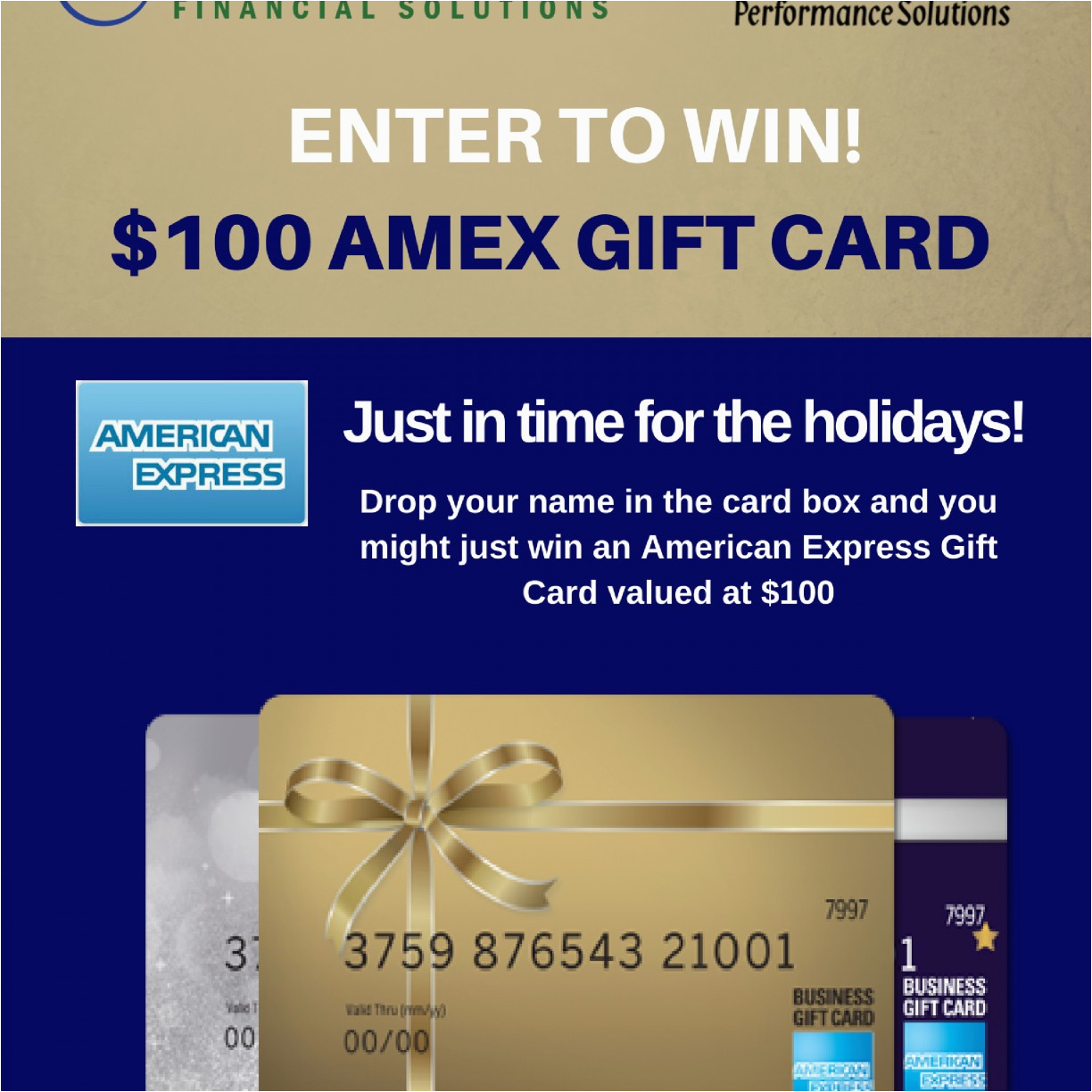 american express my business gift card