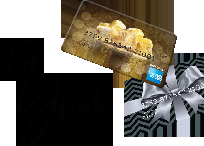 American Express Birthday Gift Card