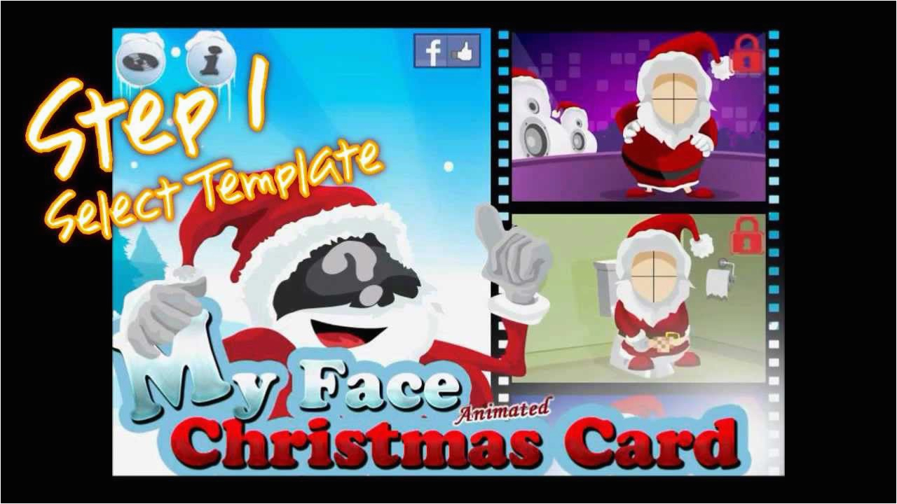 Animated Birthday Cards with Your Face Animated Christmas Cards with Your Face