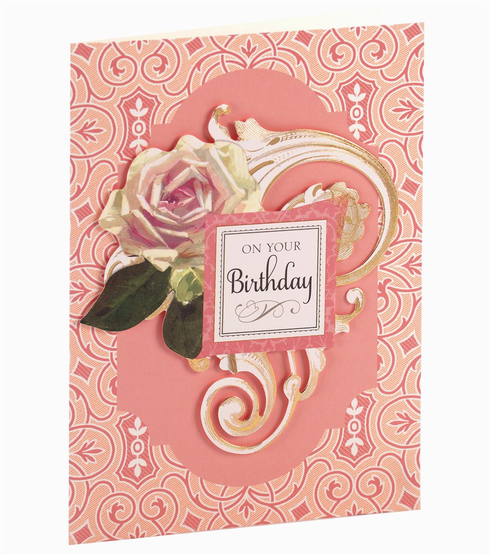 anna griffin card kit birthday floral jo ann