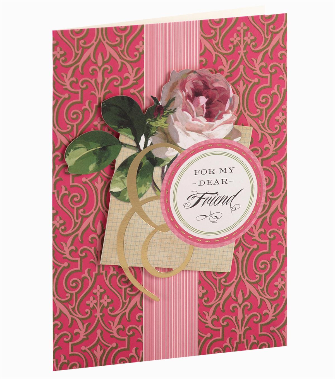 anna griffin card kit birthday for my friend garden jo ann