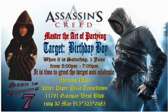assassins creed custompersonalized