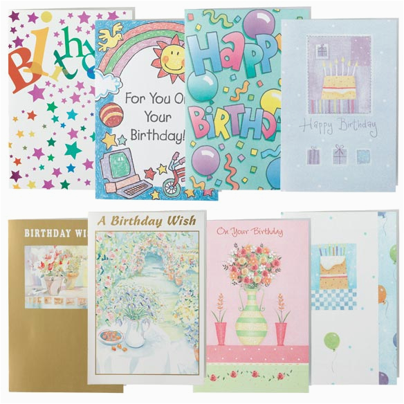 buy assorted birthday cards set of 24 337184