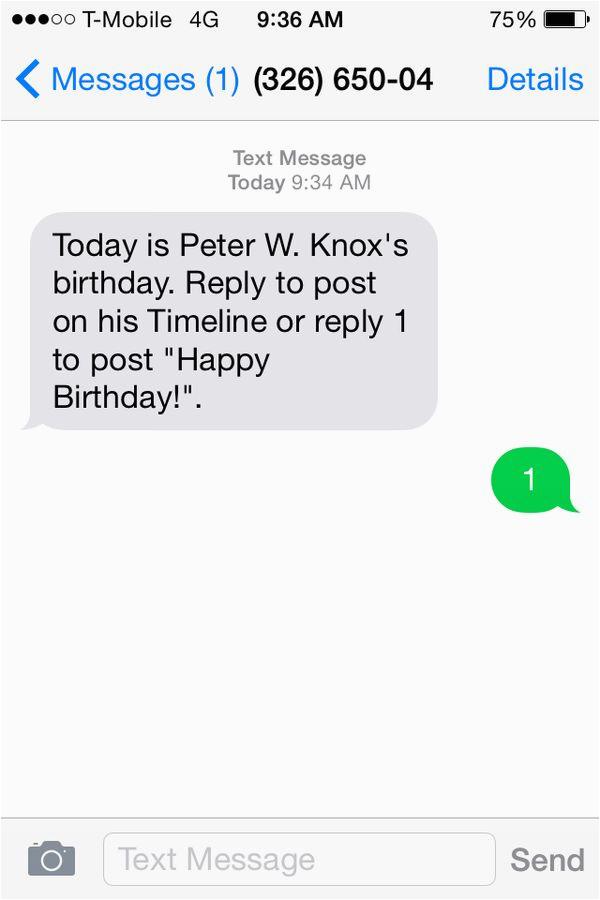 automated birthday greetings facebook birthday