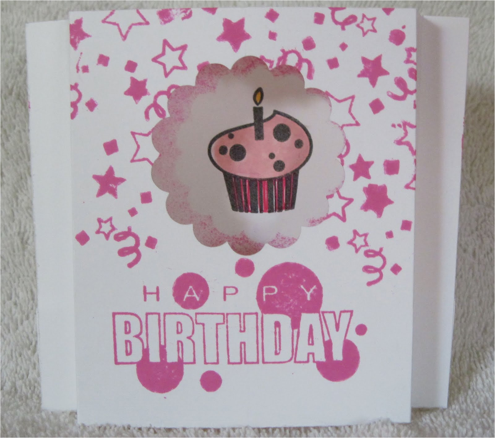 paper fanatic automatic pop up birthday card