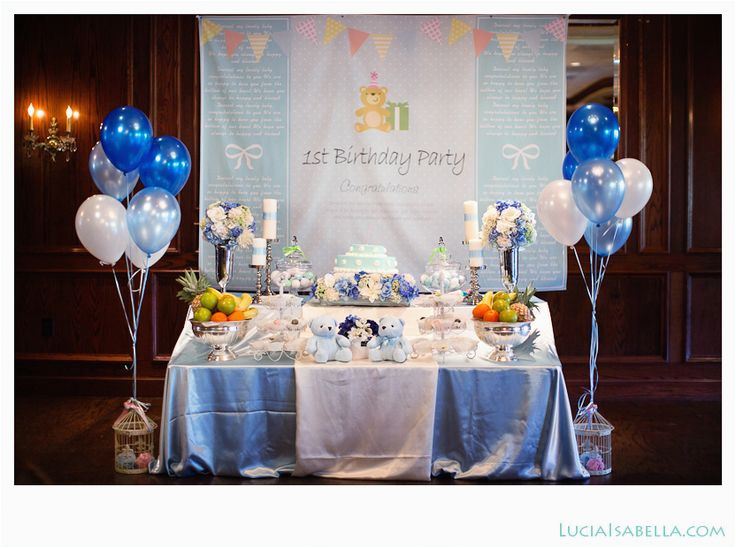 1st birthday themes boy