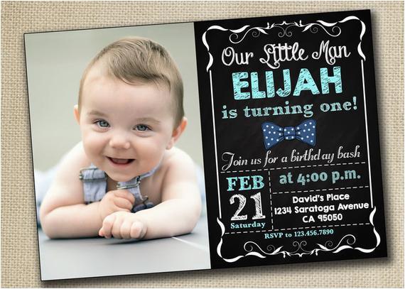 Baby Boy 1st Birthday Party Invitations Girl First Invitation By Printablestoyou
