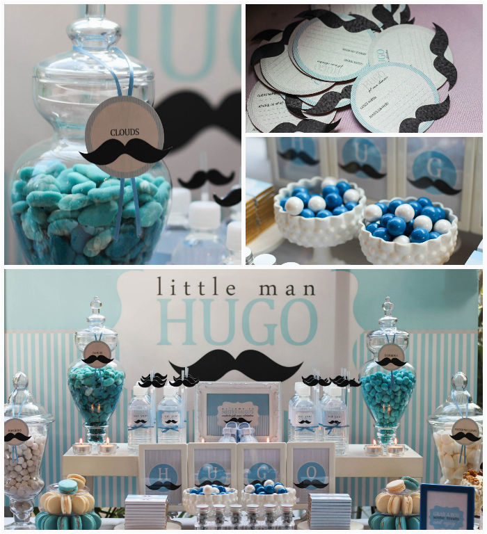 Baby Boy First Birthday Decoration Ideas 1st Party Decorations For