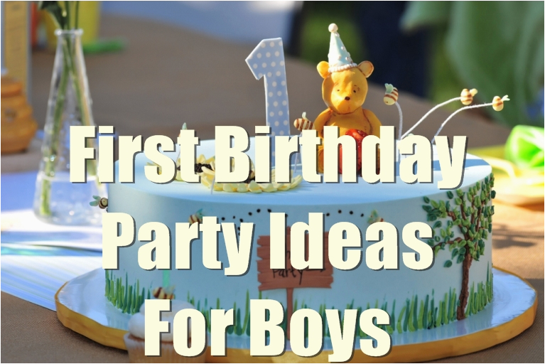Baby Boy First Birthday Decoration Ideas Birthdaybuzz