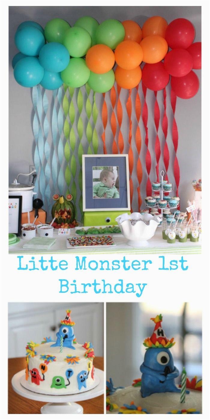 Baby Boy First Birthday Decoration Ideas 25 Best About On Pinterest