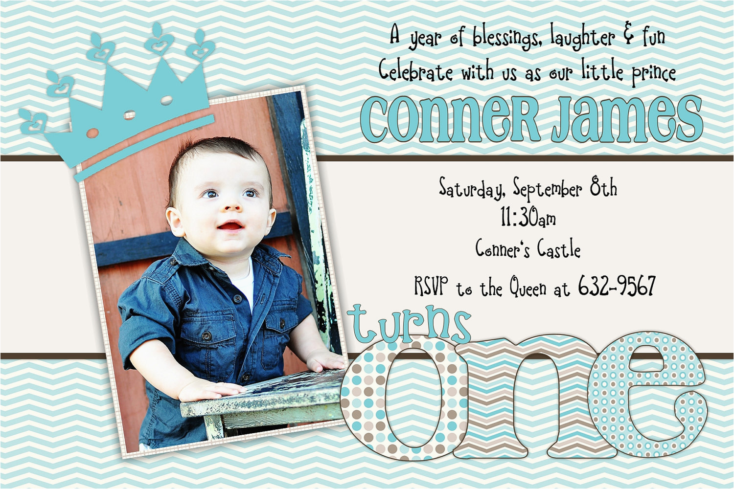 Baby Boy First Birthday Invitation Quotes Invitations Free