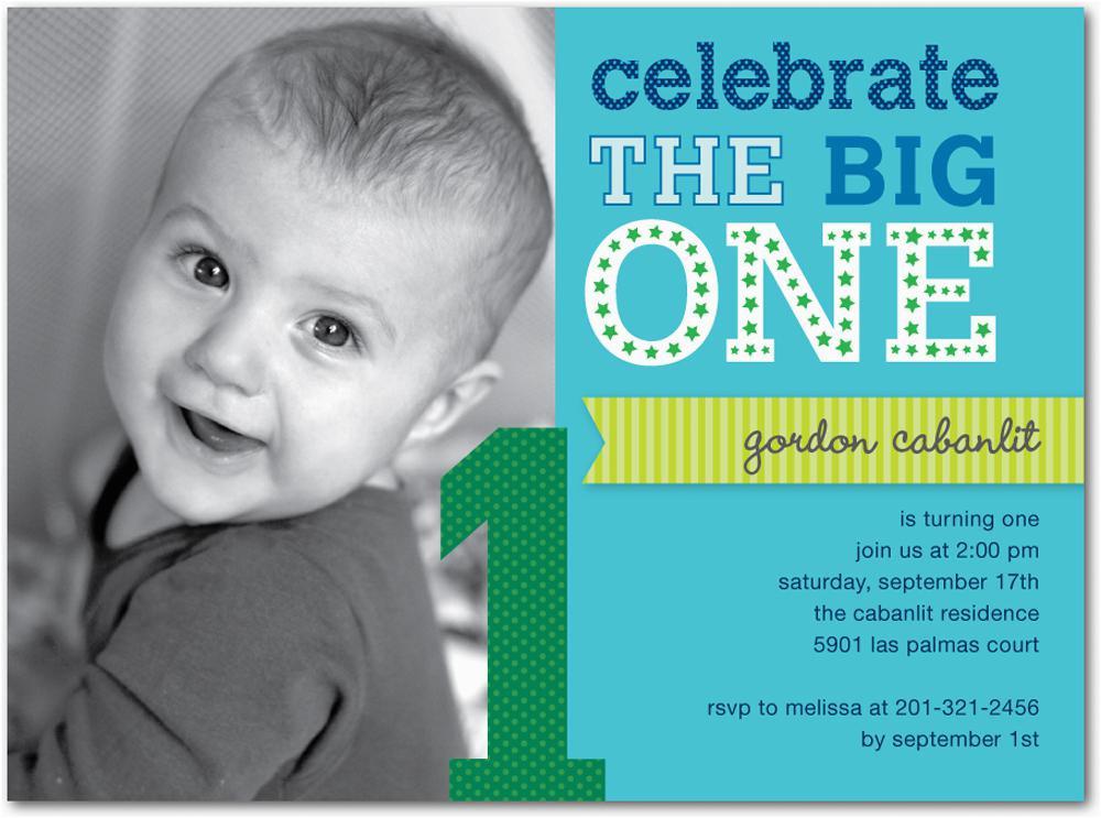 Baby Boy First Birthday Invitation Wording 16 Best Invites Printable Sample