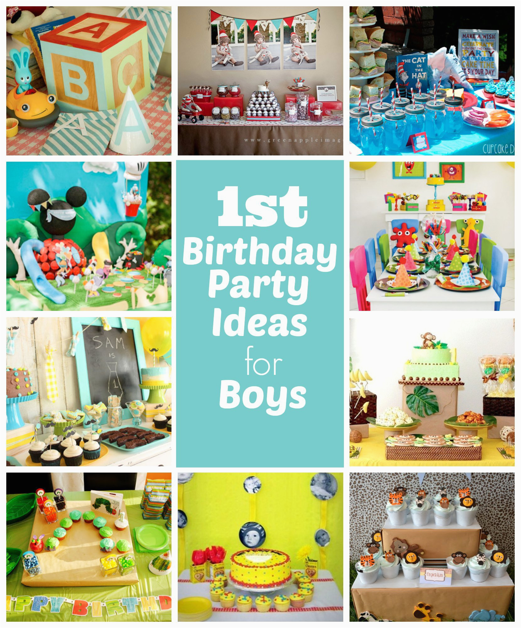 Baby Boy First Birthday Party Decorations 1st Ideas For Boys Right Start Blog On