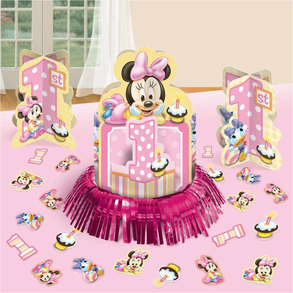 Baby Minnie Mouse 1st Birthday Decorations Best Decoration