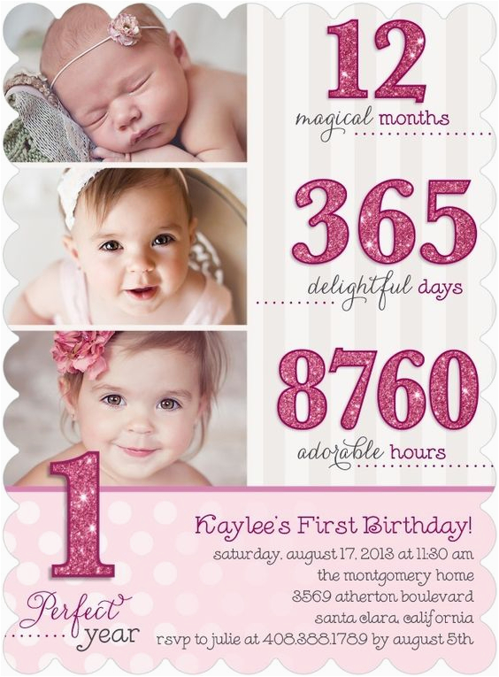 Baby S First Birthday Card Ideas Birthdays Cute Cards and 1st Birthday Invitations On