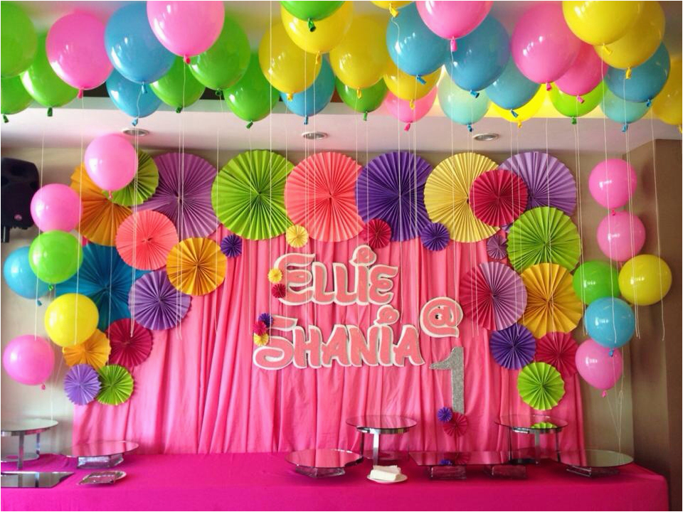 Background Decoration For Birthday Party At Home Birthdaybuzz