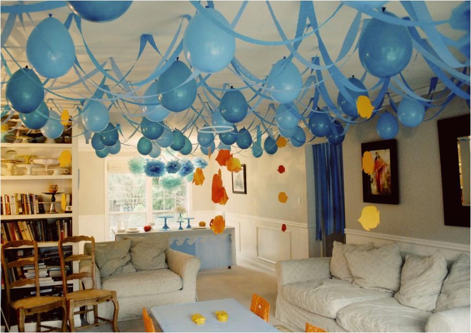 cool birthday decoration home interior party photos design