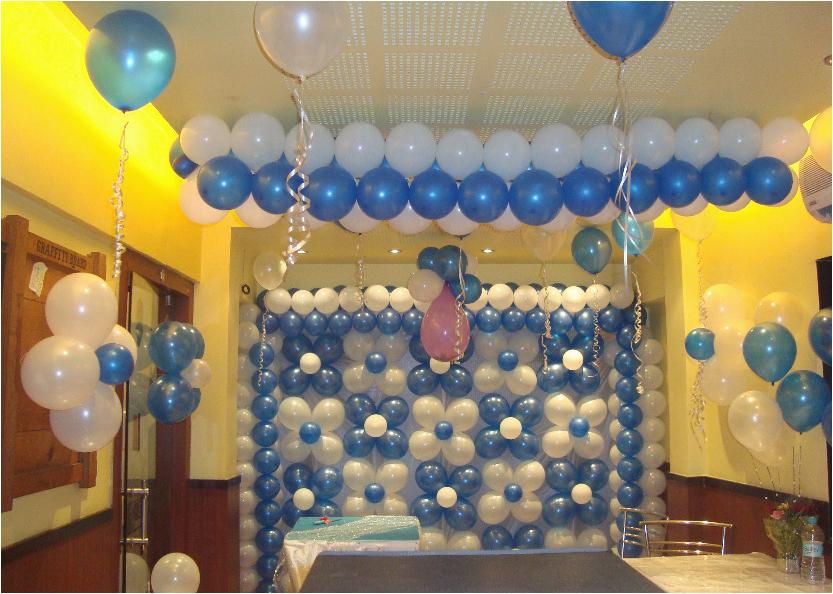 fine birthday decoration home interior party photos design