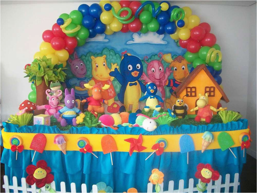 Backyardigans Birthday Decorations Party Ideas Photo 1 Of 12 Catch