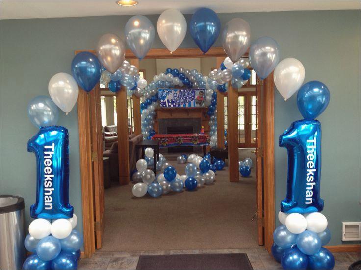 first birthday balloon decor