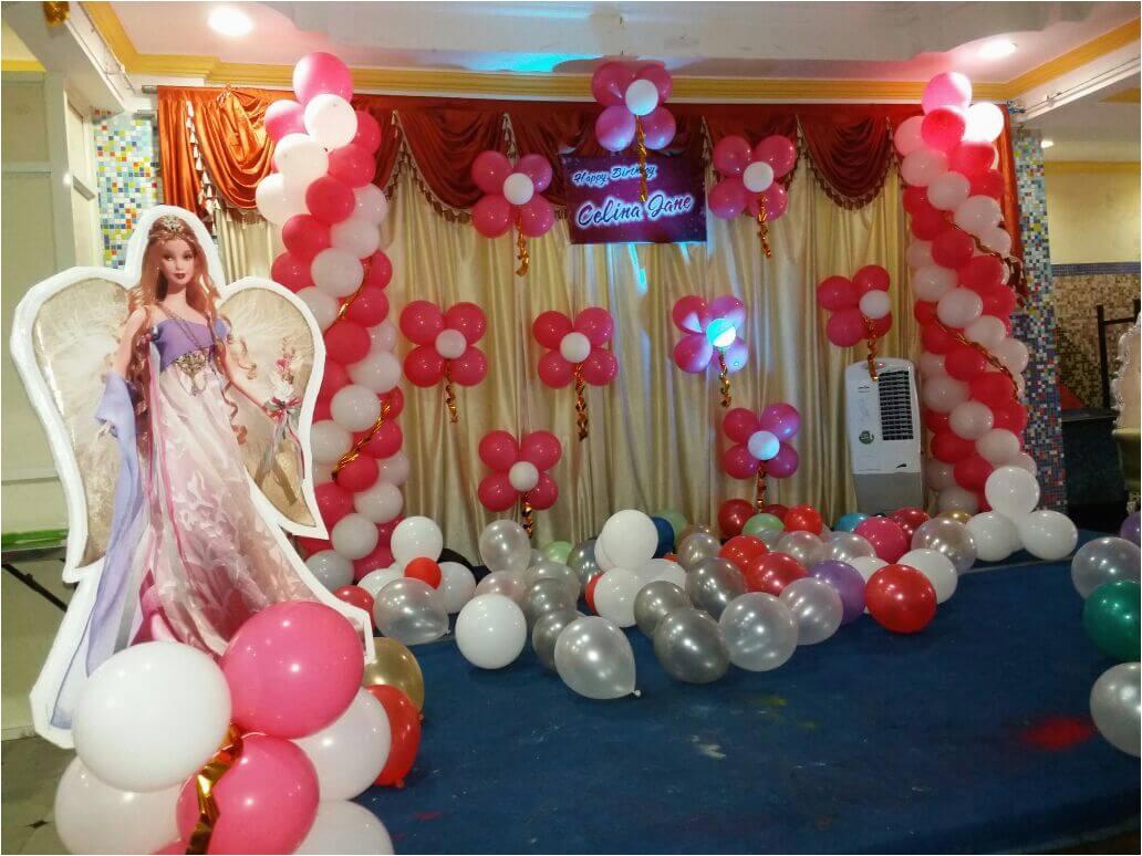 baby first birthday balloon decoration