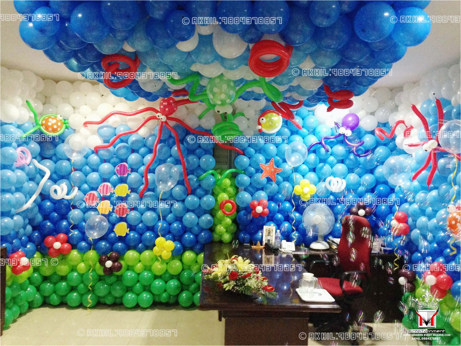 worldclass balloon decorators in