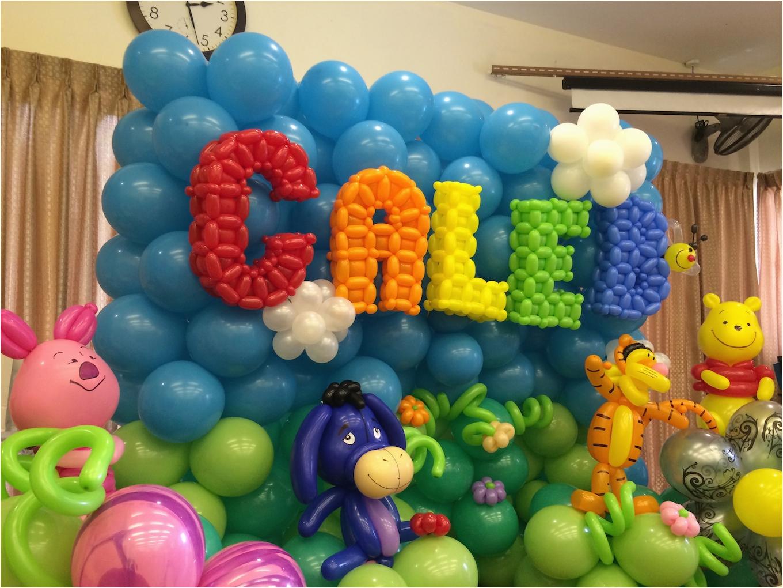 cartoon balloon decorations for birthday party