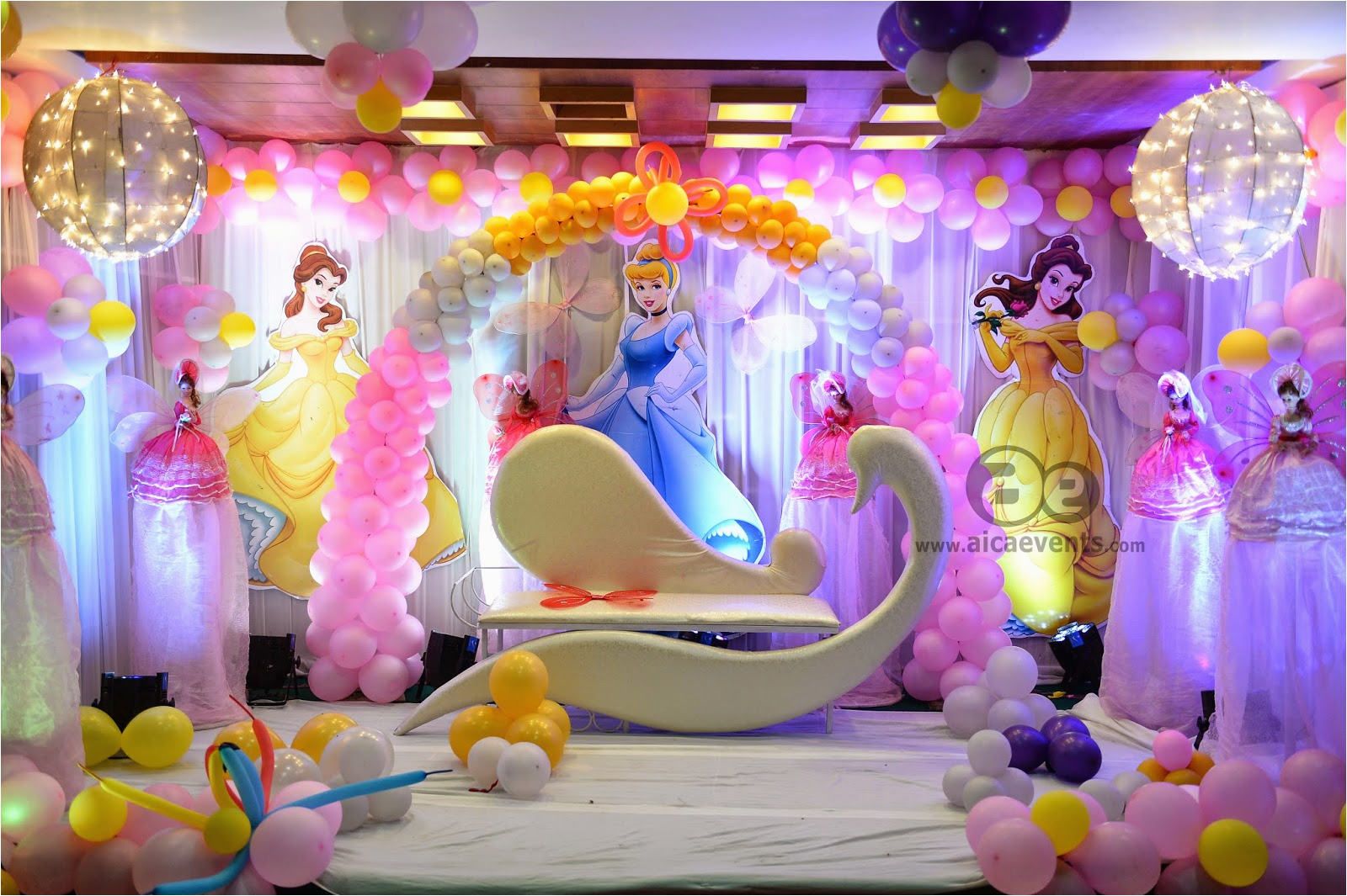 barbie theme decorations by aica events