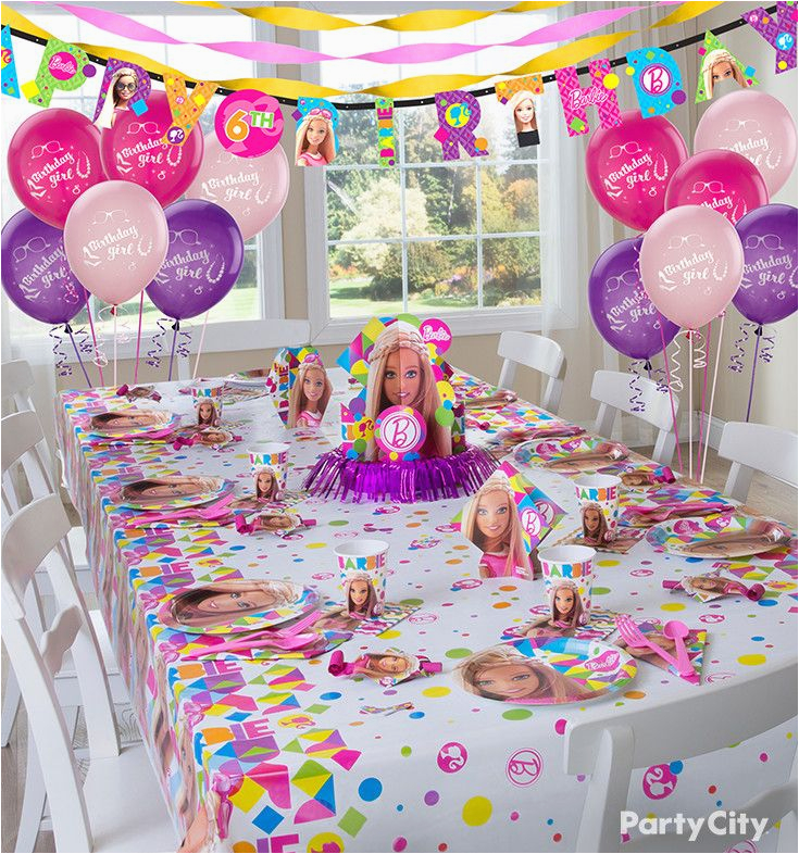 Barbie Birthday Decorations Ideas