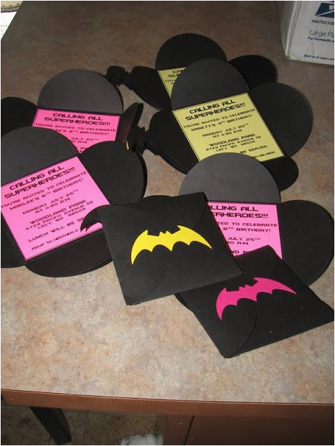 Batgirl Birthday Party Invitations 25 Best Ideas About Batgirl Party On Pinterest