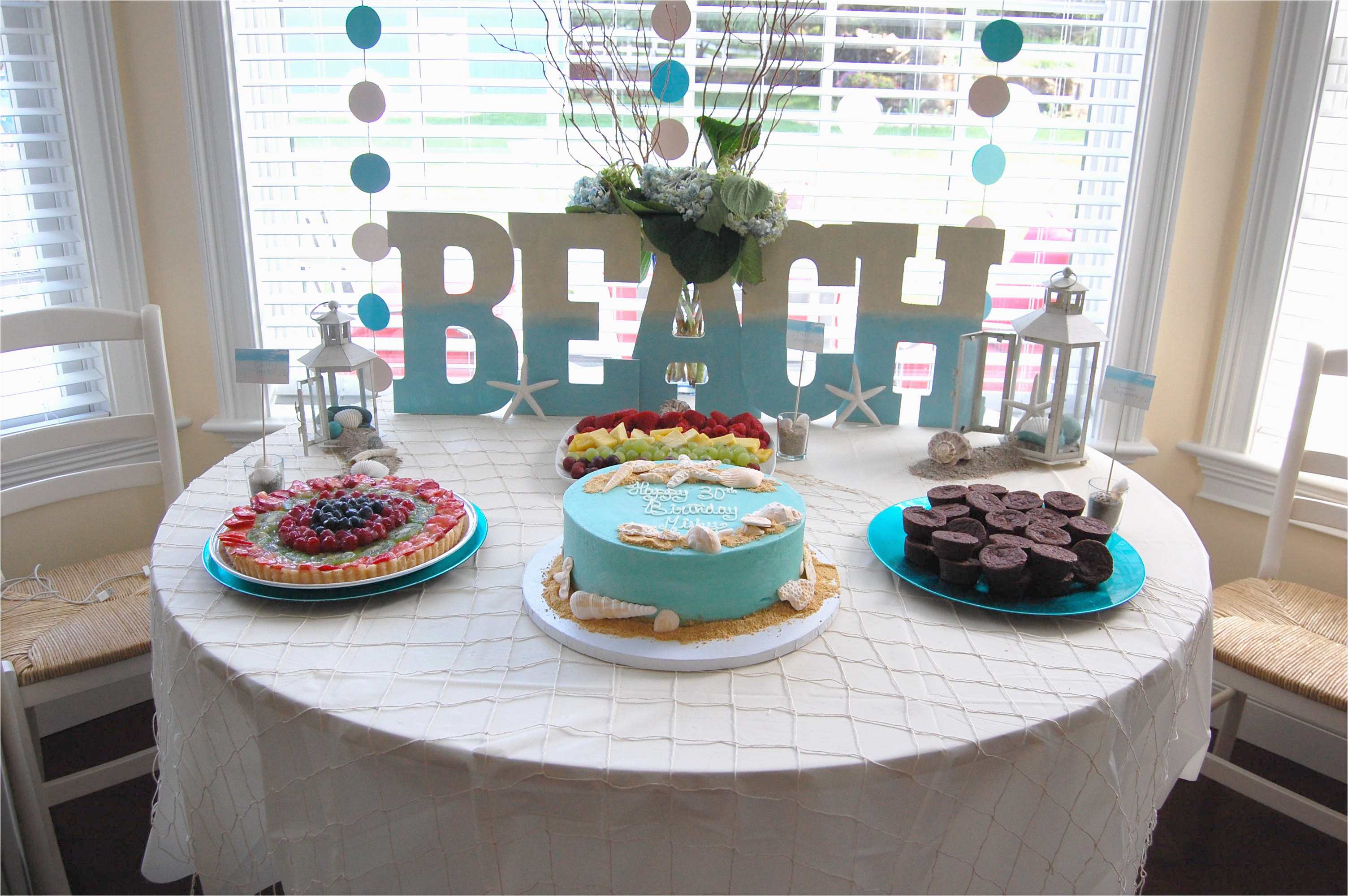 beach theme party