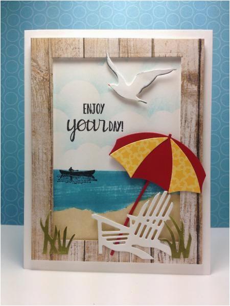 birthday card beach theme