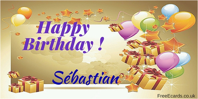 happy birthday sebastian free ecards