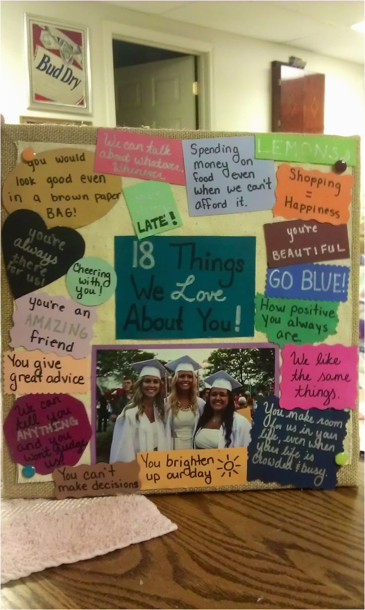Birthday Gift Ideas For Best Friend Female Pinterest Lovely Friends