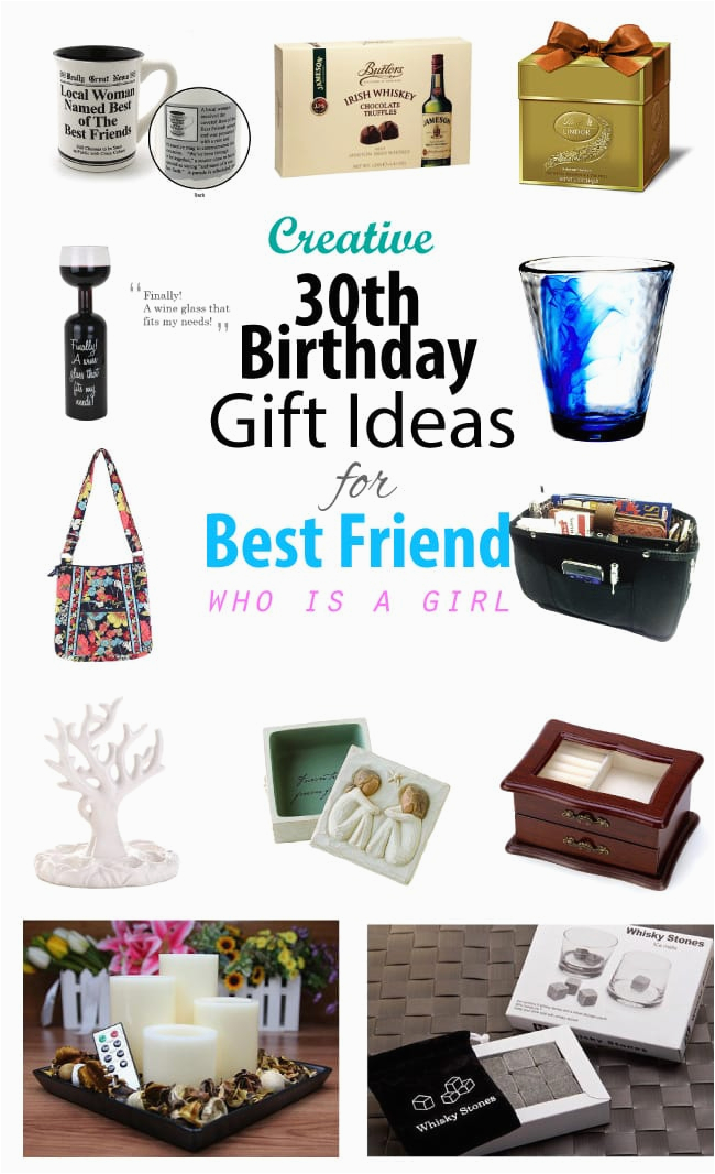 Best Friend Birthday Gift Ideas For Her Creative 30th Female