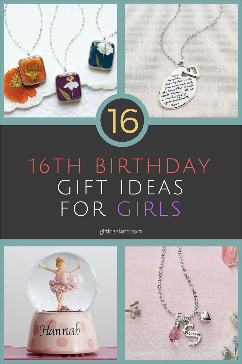 16 unique 16th birthday gift ideas for girl