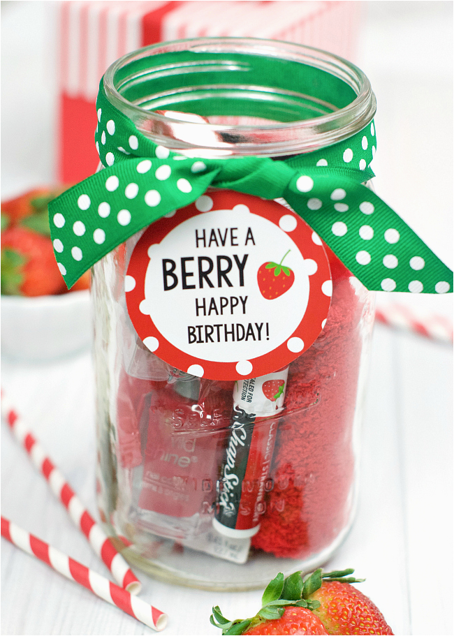 Best Gift for Teacher On Her Birthday Berry Gift Idea for Friends or Teachers Fun Squared