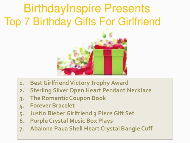 Best Gift To Give Your Girlfriend For Her Birthday Top 7 Recommendations