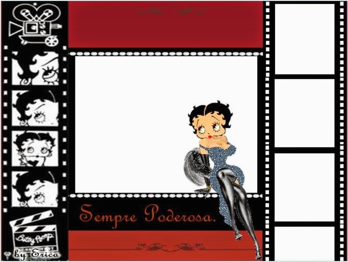betty boop free printable cards or