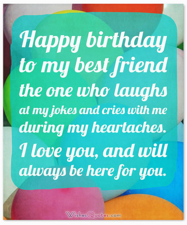 Bff Birthday Card Messages Heartfelt Wishes For Your Best Friends With Cute