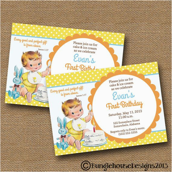 1st Birthday Invitations 356136283005205381