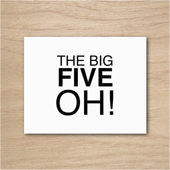 Big 50th Birthday Cards Funny Humor Happy Greeting Card By Curly