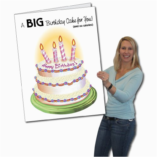 Biggest Birthday Card Victorystore Jumbo Greeting Cards Giant Birthday Card