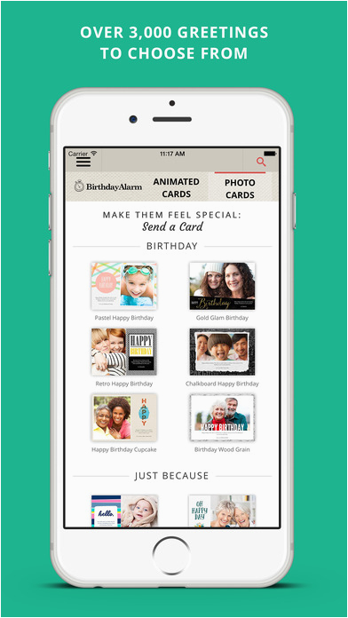 birthday alarm free birthday reminders and greeting cards
