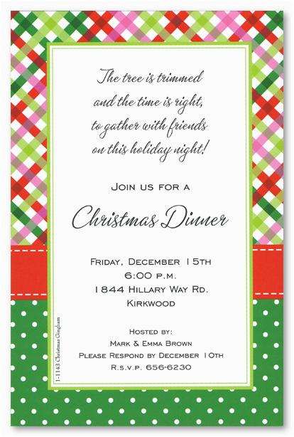 christmas brunch invitation wording