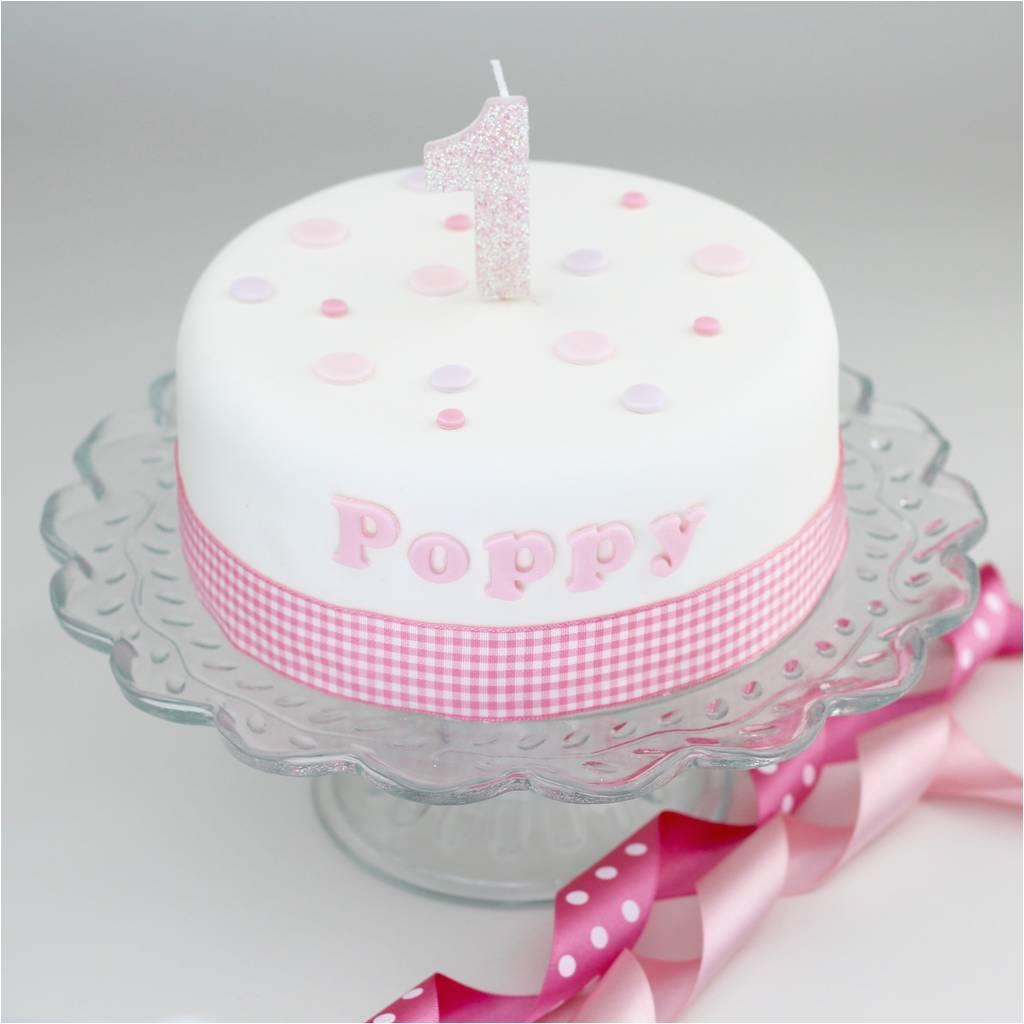 personalised girls birthday cake decorating kit