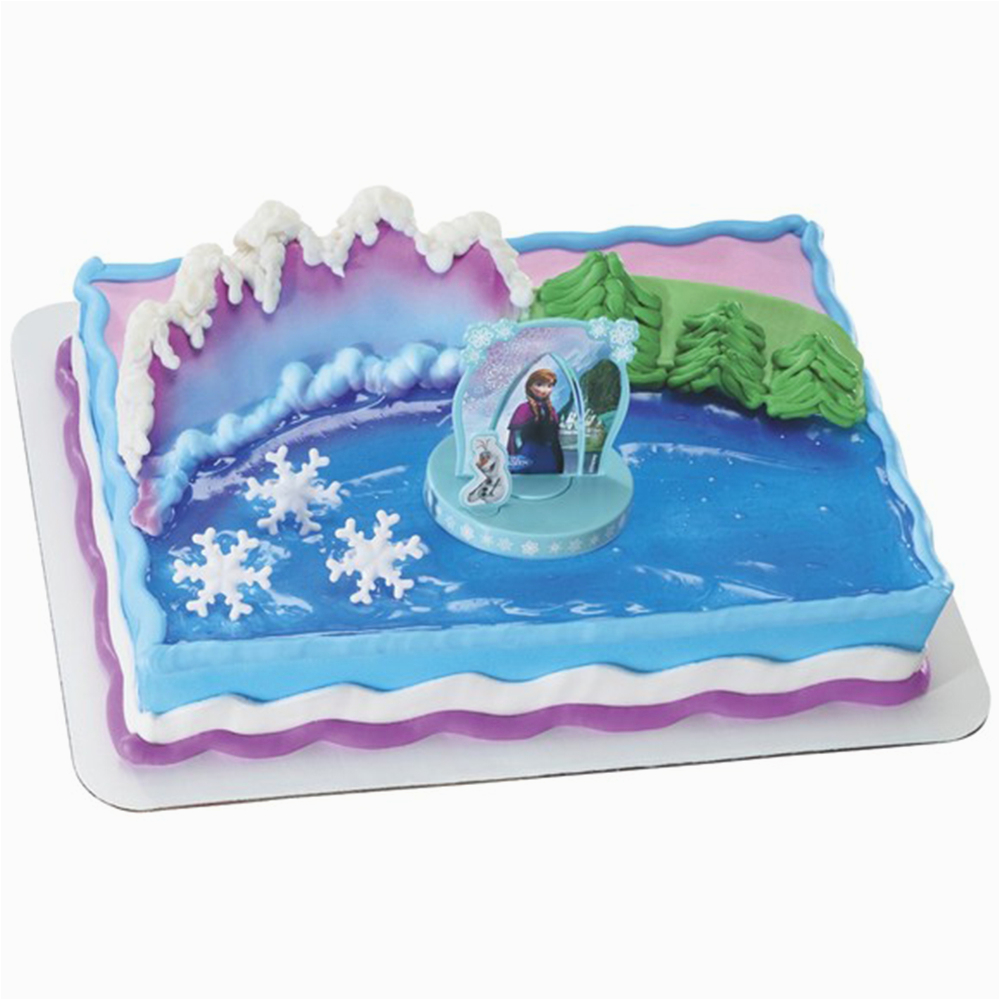 decopac disney frozen anna and elsa cake kit